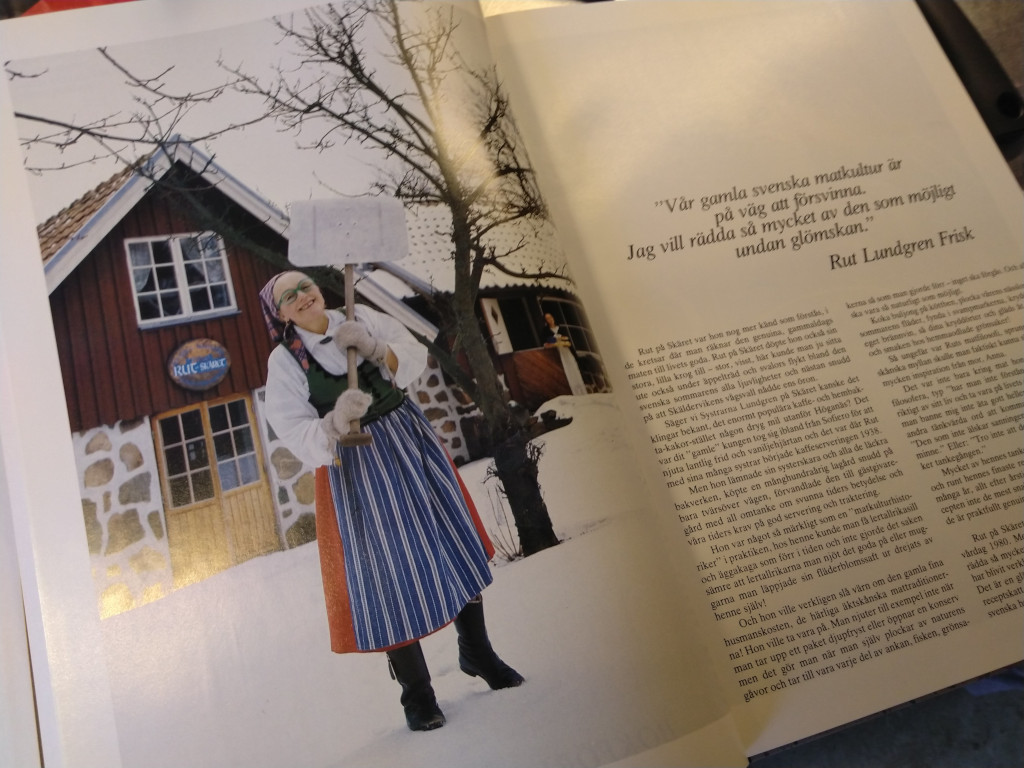 We found a lovely book with old Swedish recipes